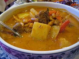 massaman curry thai dishes