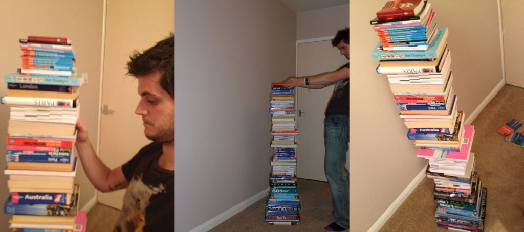 travel books tower