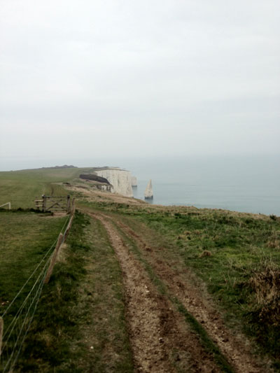 Old Harry Rocks Clifftop Walk