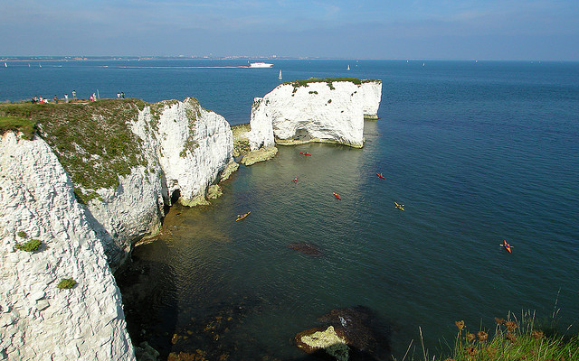Old Harry Rocks The Jurassic Coast Dorset Journeytom Com