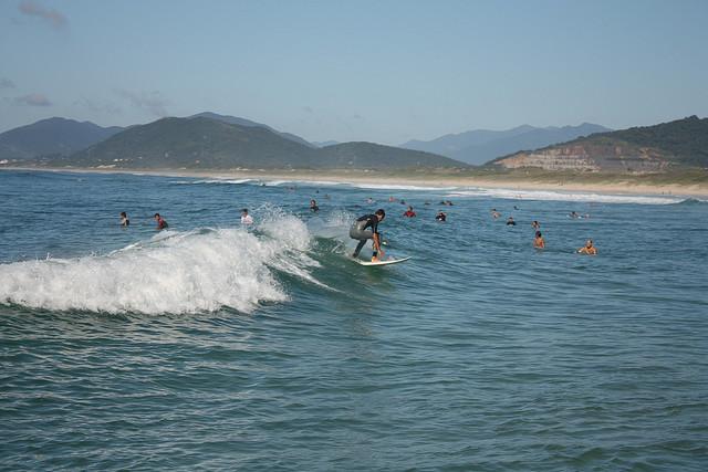 joaquina beach brazil