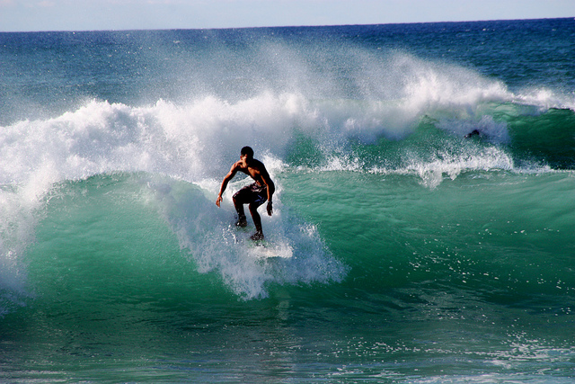 surfing north shore hawaii
