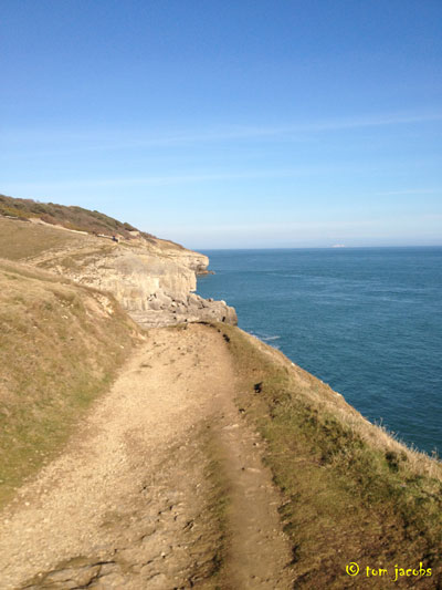 coastal path durlston country park