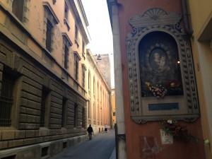 Bologna empty streets