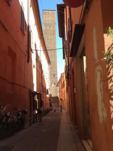 empty street Bologna