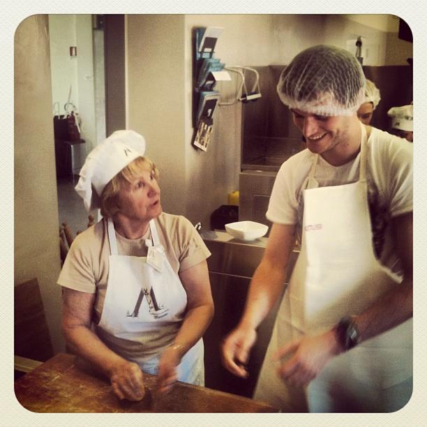 casa artusi pasta making