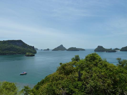 angthong marine park viewpoint