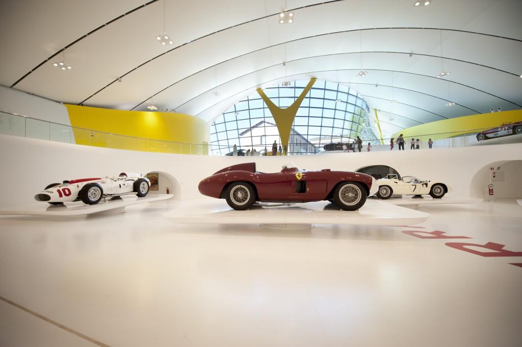 Architecture of Museo Enzo Ferrari