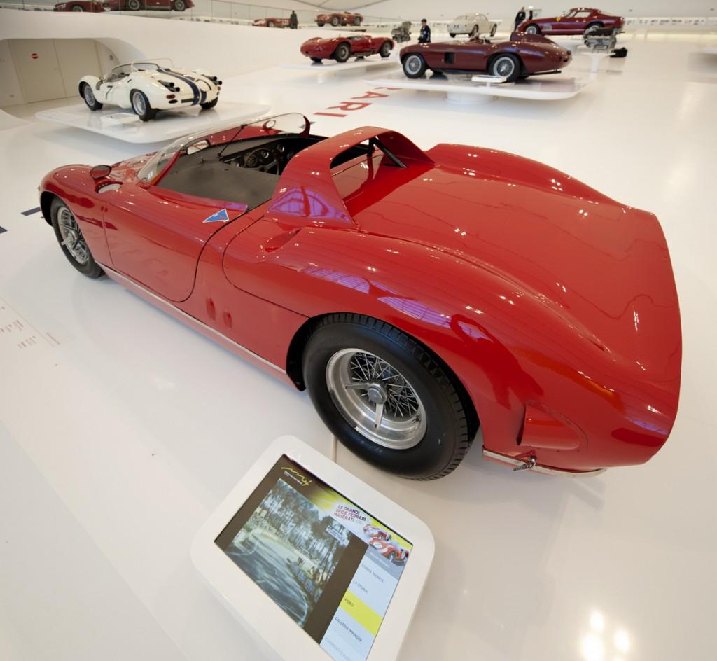 Inside Museo Enzo Ferrari