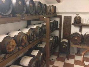 Barrels at Acetaia di Giorgio
