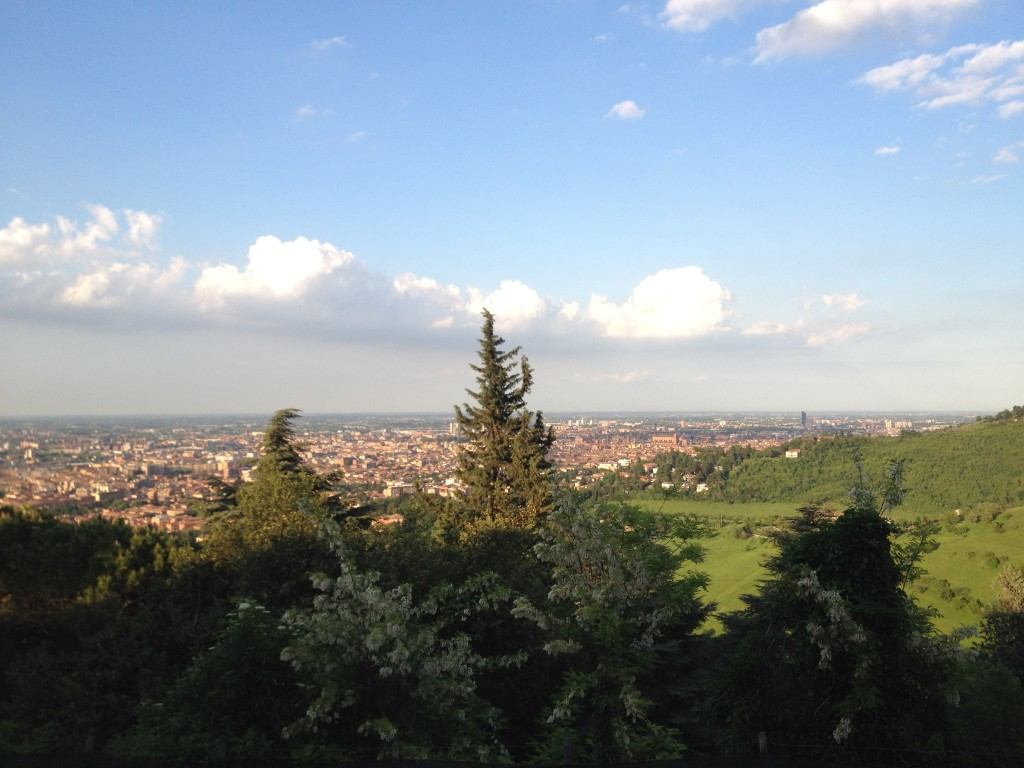 Views from San Luca, Bologna
