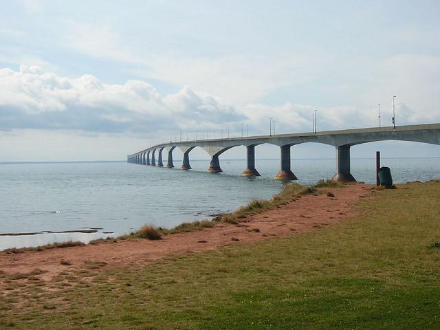 conferderation bridge canada - bridges of the world