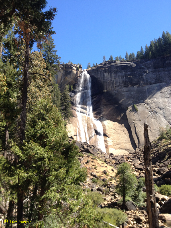nevada fall yosemite