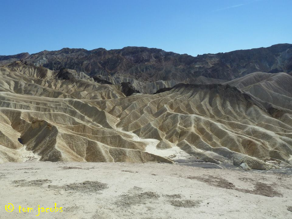 Death Valley quarrying