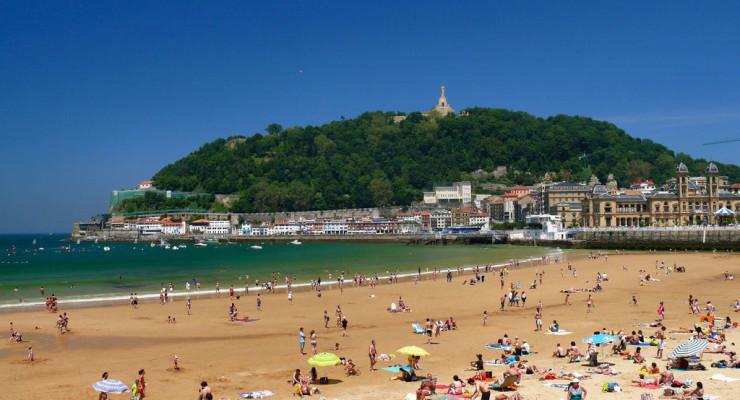 San Sebastian La Concha Beach