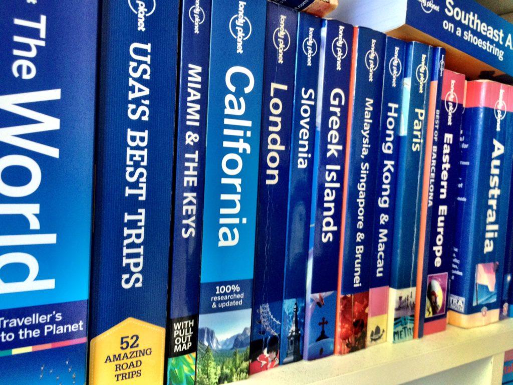 guide books round the world trip