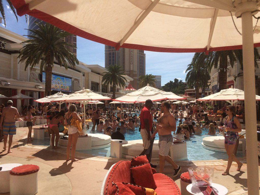 Encore Beach Club Las Vegas Pool Party