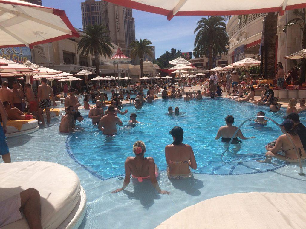 Encore Beach Club Pool